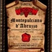 etichetta montepulciano