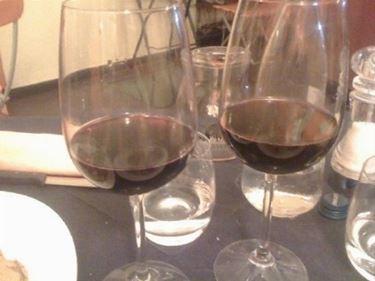 calici da vino rosso
