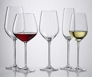 I bicchieri da vino - Servire il vino