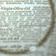 etichettatura olio extravergine di oliva