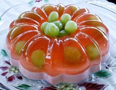 gelatina uva