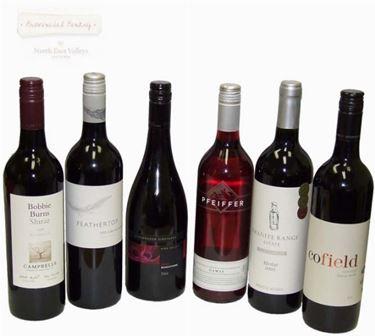 Vino rosso veneto